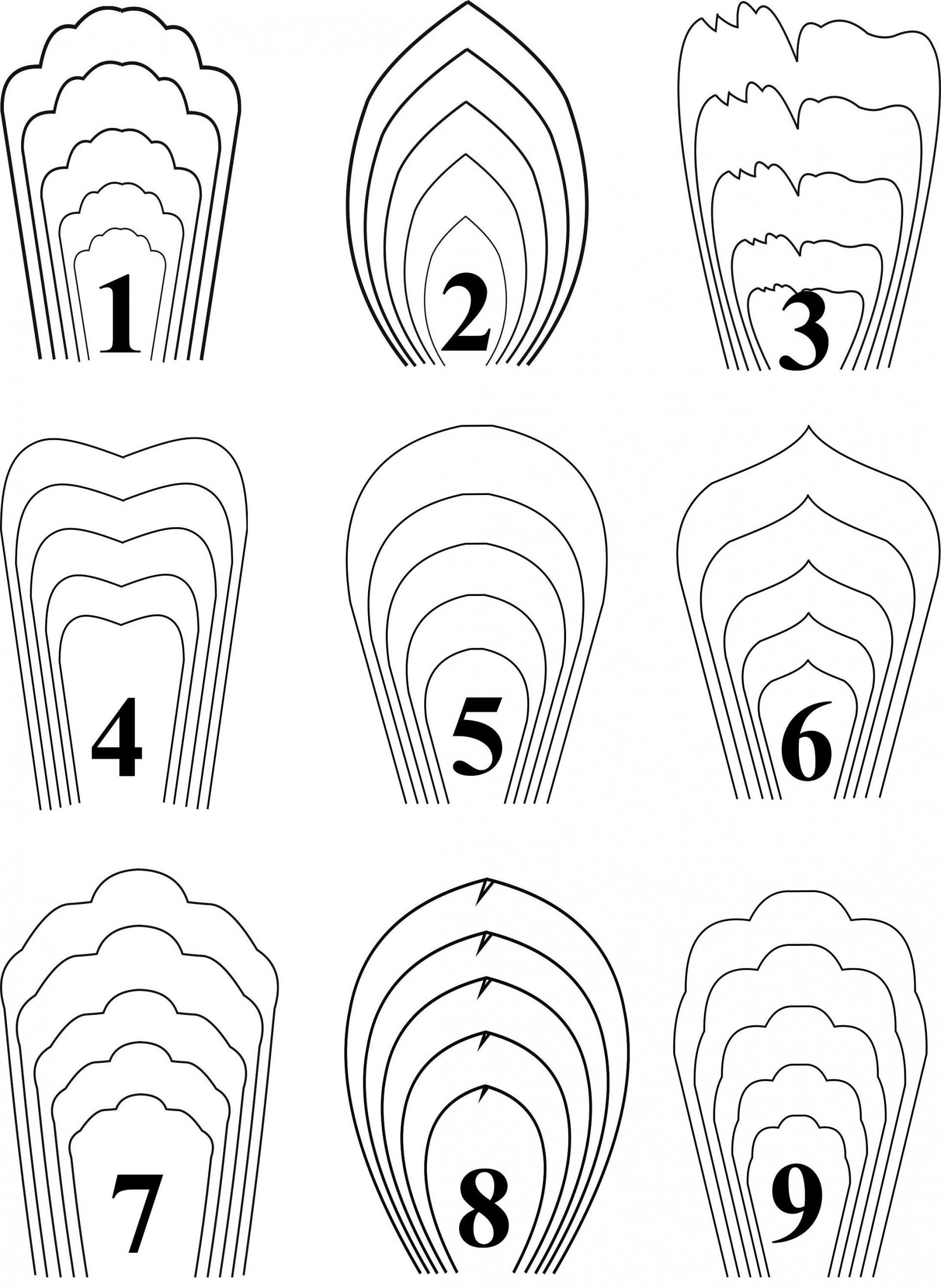 001 Template Ideas Paper Flower Templates Sensational Free Backdrop - Free Paper Flower Templates Printable
