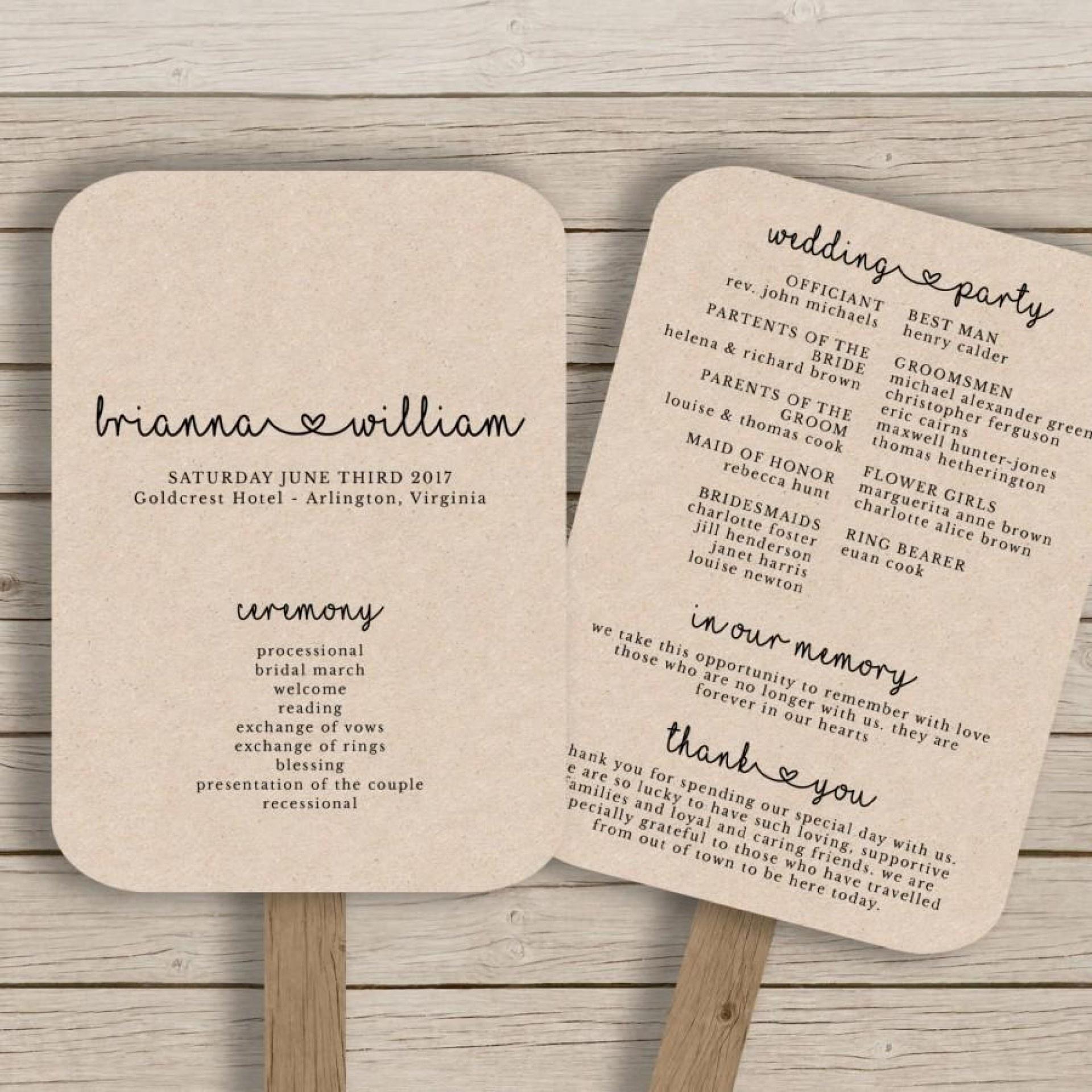 005 Free Wedding Program Fan Templates Template Ideas Excellent - Free Printable Wedding Fan Templates
