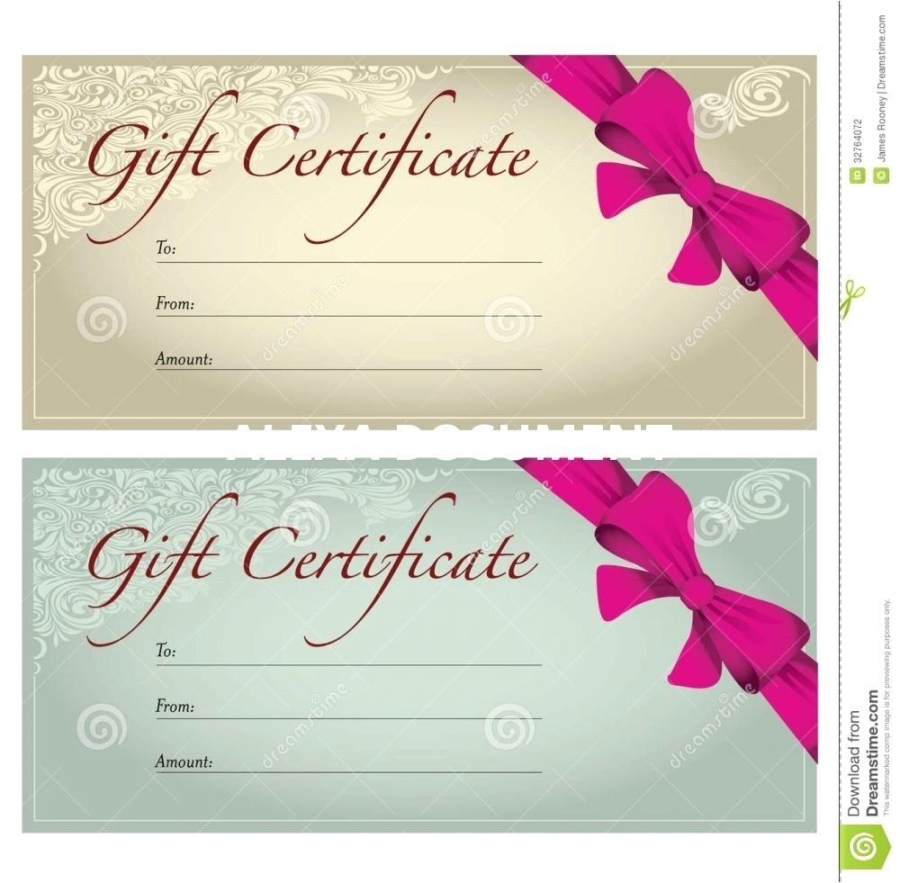 005 Salon Gift Certificate Templates Template Ideas Printable Free - Free Printable Gift Certificates For Hair Salon