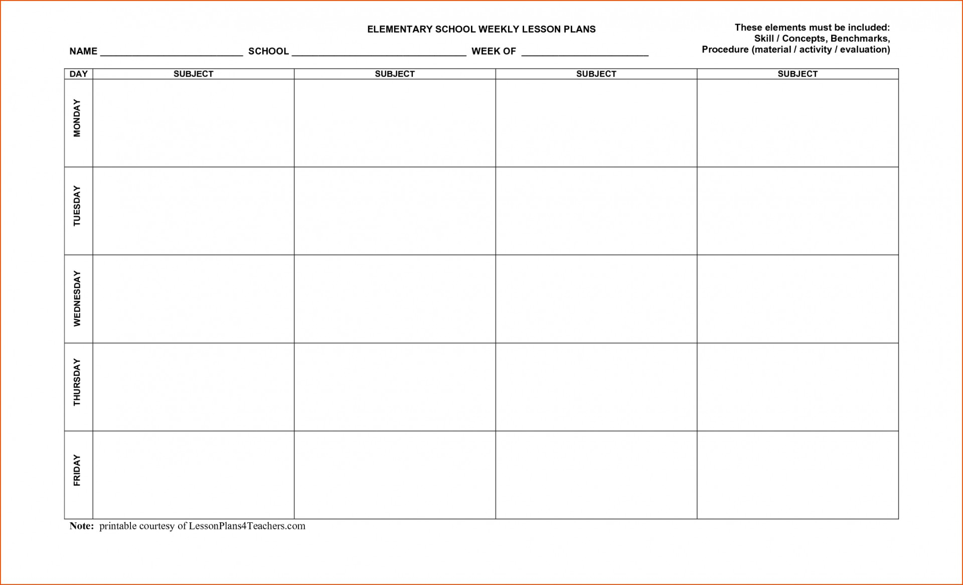 006 Free Printable Lesson Plans Template Ideas Plan Beautiful - Free Printable Lesson Plan Template Blank