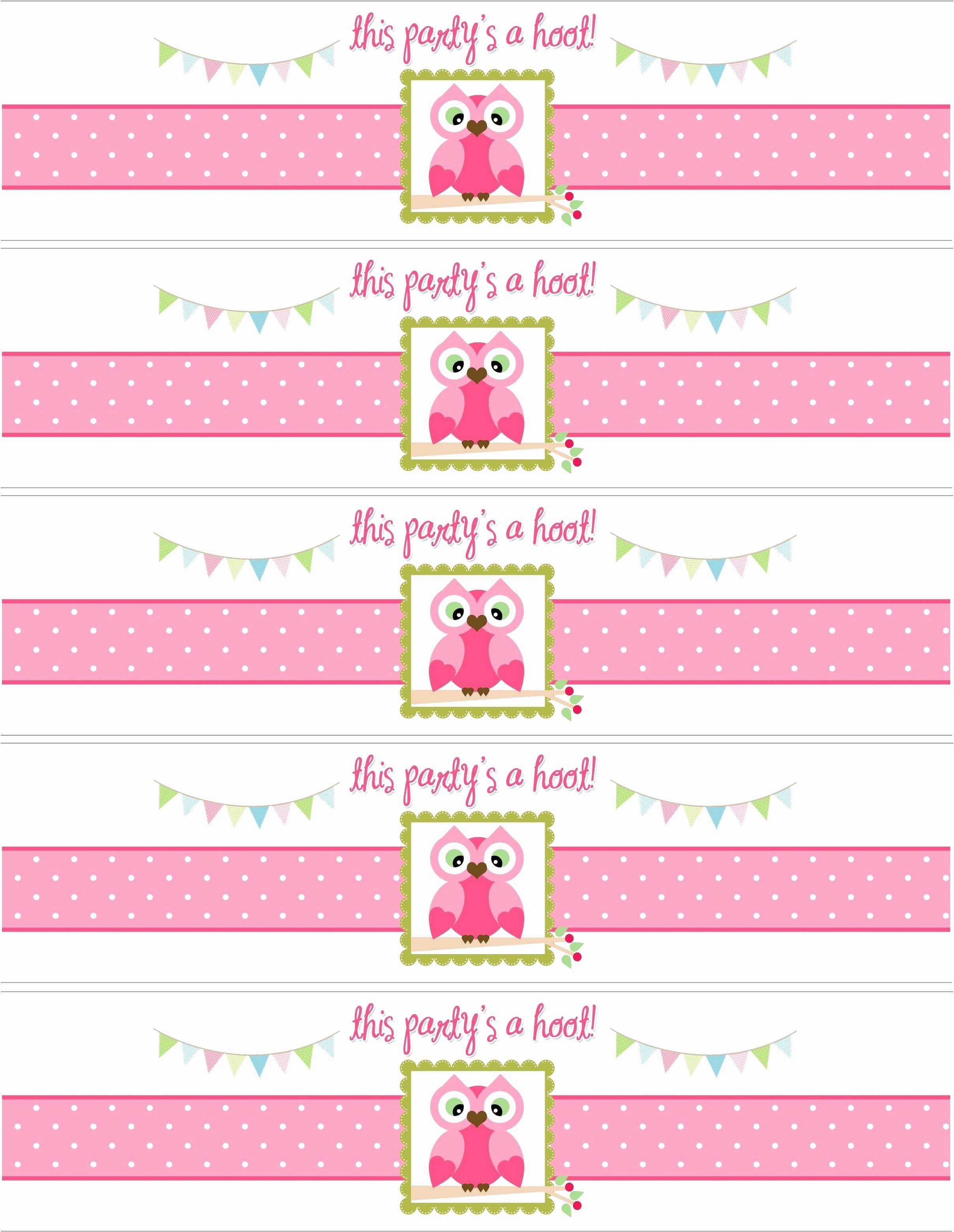 006 Free Water Bottle Label Template Ideas Design Your Own Labels - Free Printable Baby Shower Label Templates