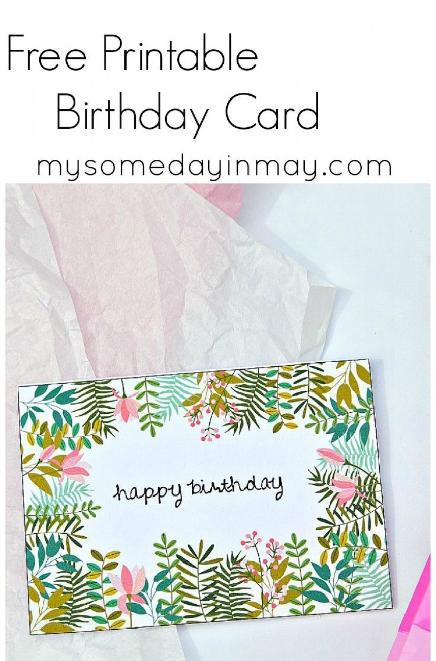 012 Birthday Card Template Ideas Free Fantastic Templates Printable - Free Printable Cards No Download Required