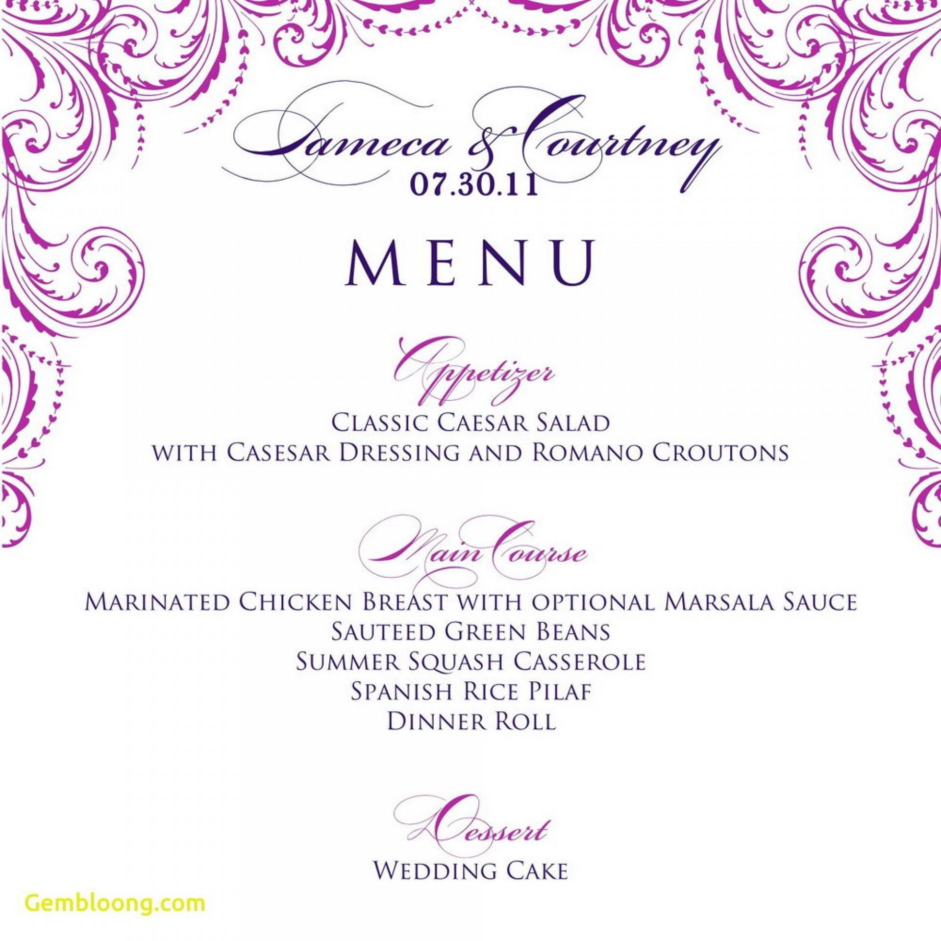 013 Menu Template Free Printable Restaurant Menus Pics Templates - Free Printable Menu Templates