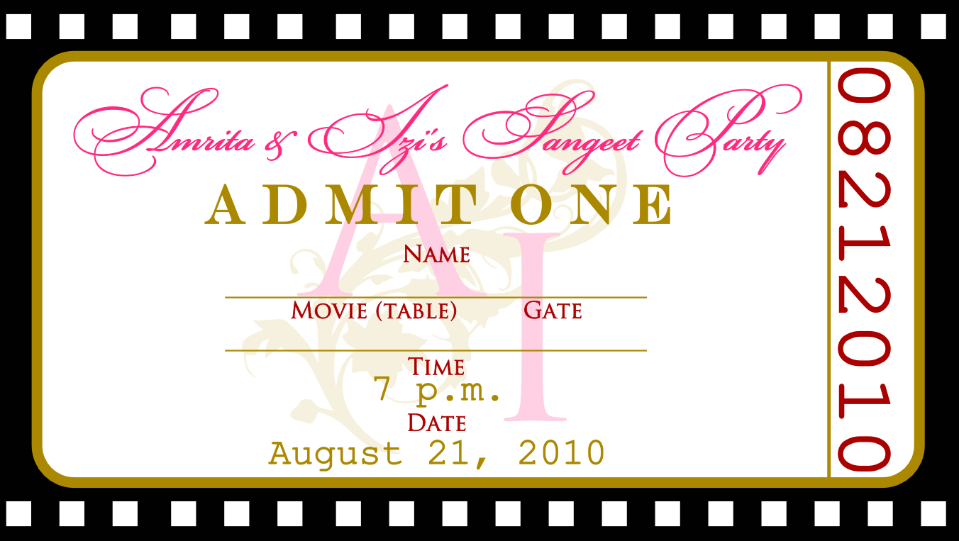 015 Template Ideas Event Ticket Free Download Concert Invitation - Free Printable Ticket Invitations