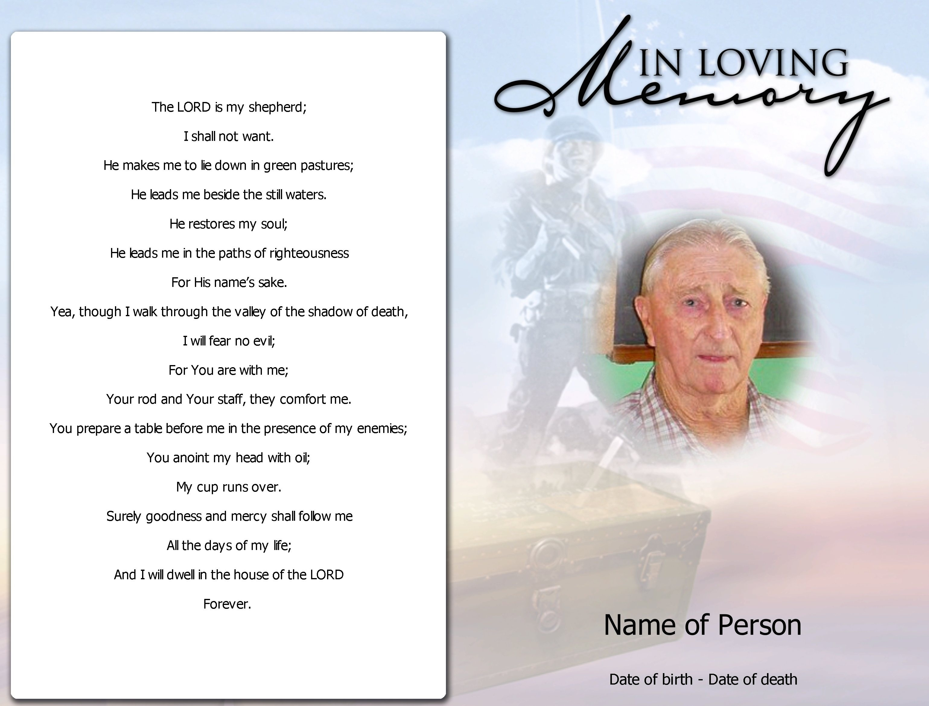 015 Template Ideas Free Memorial Rare Cards Editable Card Create - Free Printable Funeral Prayer Card Template