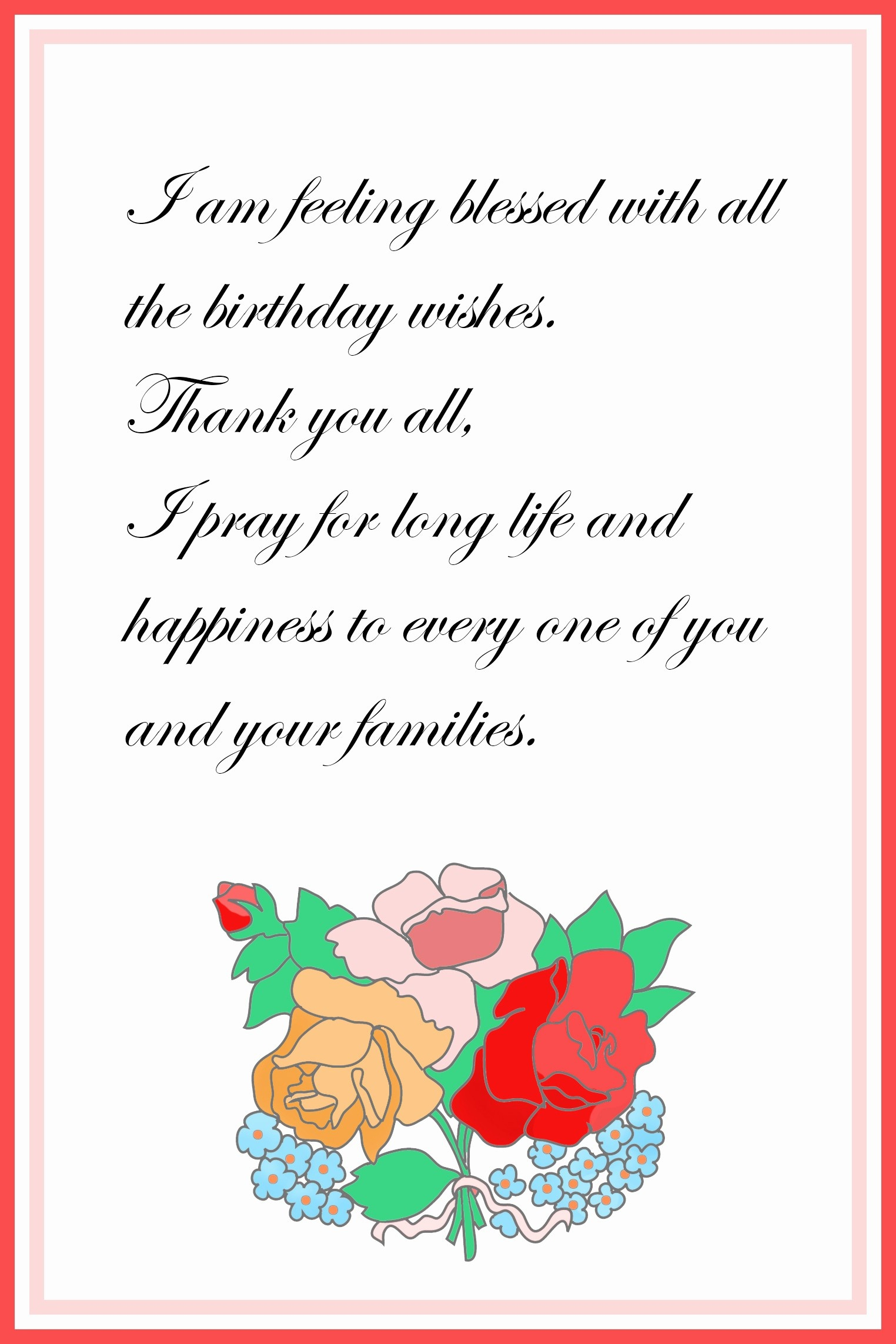 021 Hallmark Thank You Card Template Awesome Printable Free Birthday - Free Printable Hallmark Cards