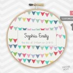 10 Baby Announcement Cross Stitch Patterns   Baby Cross Stitch Patterns Free Printable