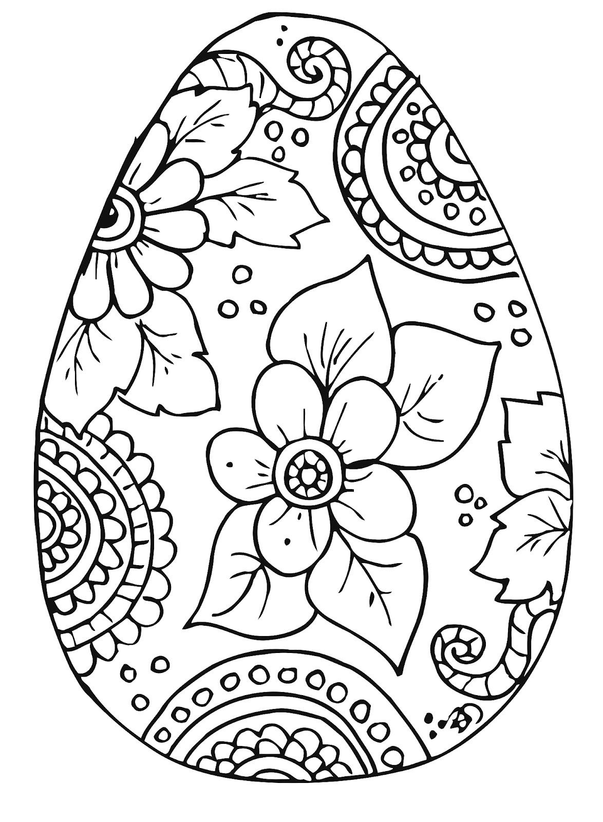 10 Cool Free Printable Easter Coloring Pages For Kids Who've Moved - Free Printable Easter Drawings