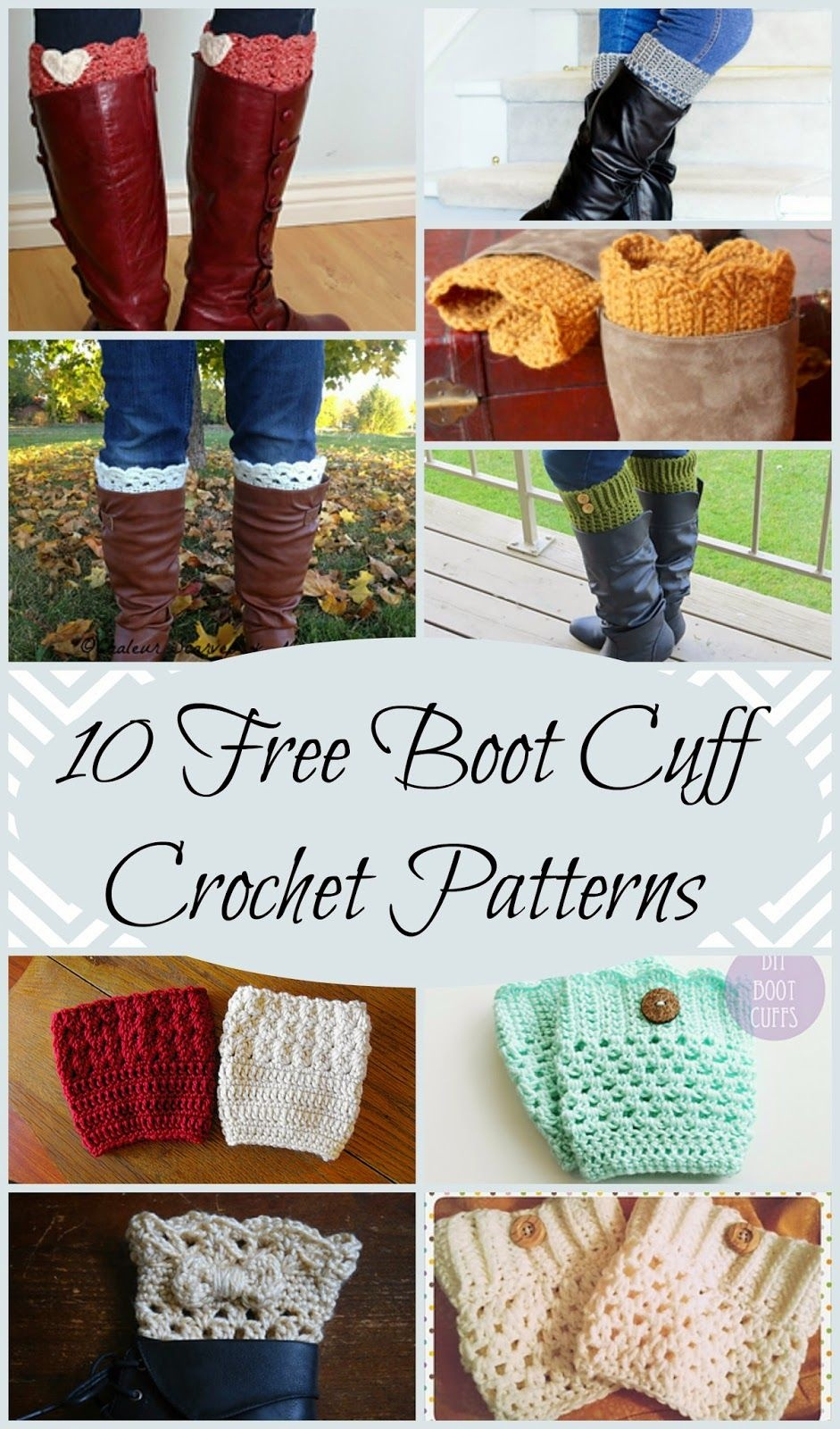 10 Free Boot Cuff Crochet Patterns Perfect For A Quick And Easy - Free Printable Crochet Patterns For Boot Cuffs