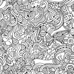 10 Free Printable Holiday Adult Coloring Pages | Coloring Pages   Free Printable Holiday Coloring Pages