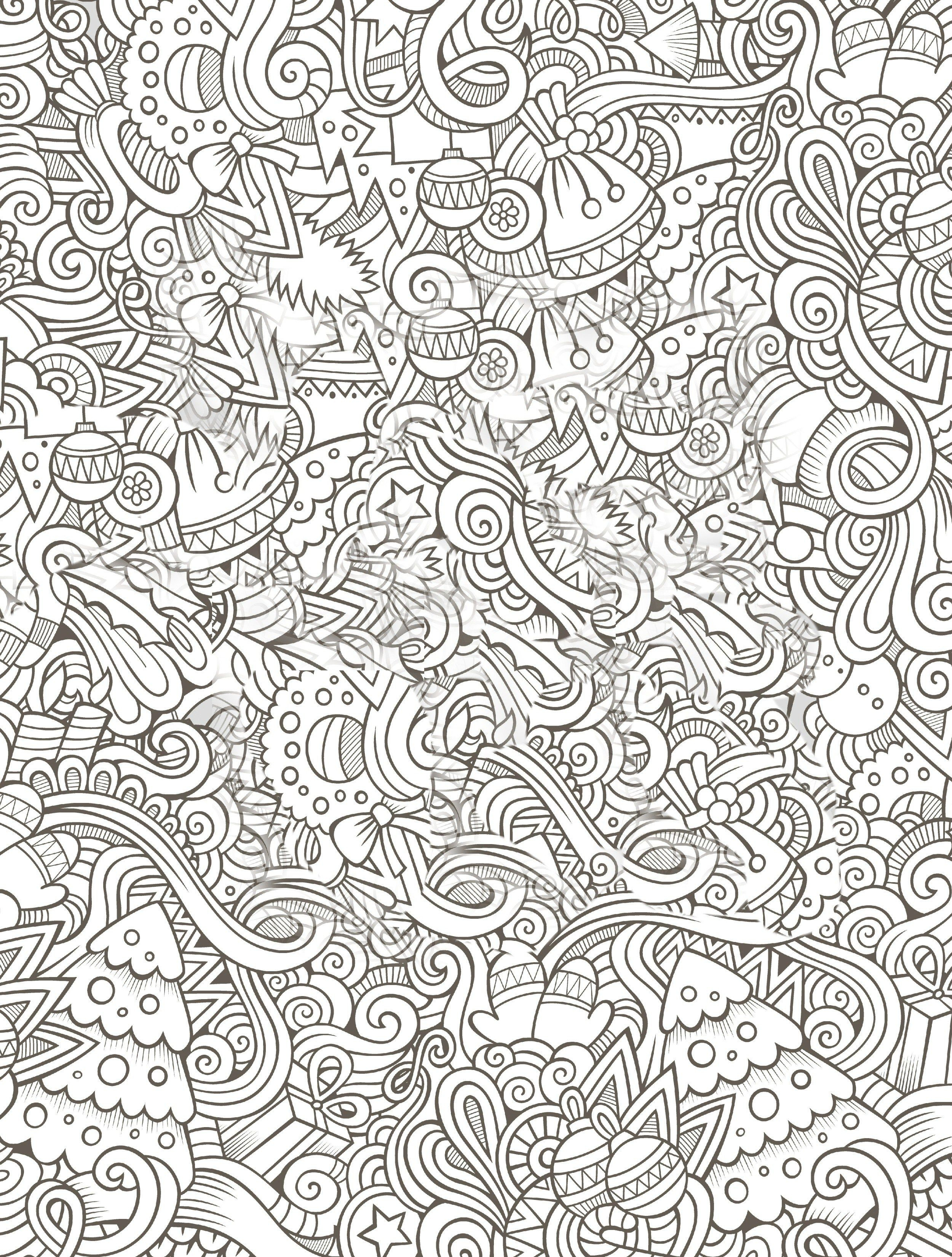 10 Free Printable Holiday Adult Coloring Pages | Free Coloring Pages - Free Printable Holiday Coloring Pages