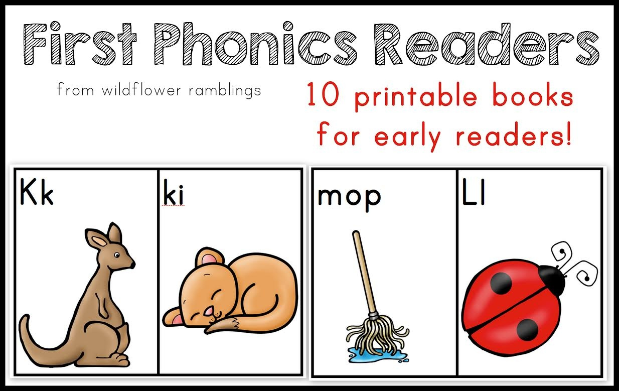 10 Phonics Readers For Early Reading - Free Phonics Readers Printable
