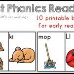 10 Phonics Readers For Early Reading   Free Printable Decodable Books For Kindergarten