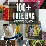 100+ Free Tote Bag Patterns   Round Up   The Sewing Loft   Handbag Patterns Free Printable