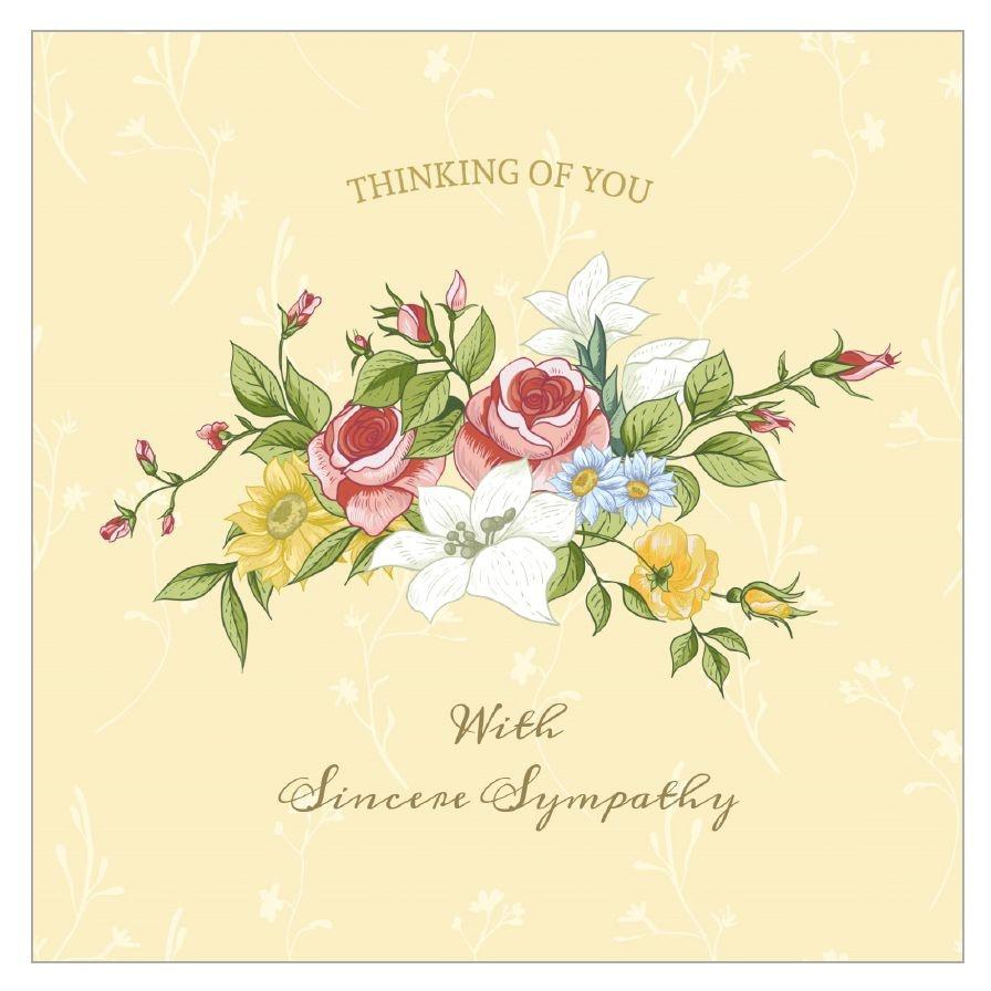 11 Free, Printable Condolence And Sympathy Cards - Free Printable Sympathy Verses