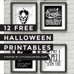 12 Free Halloween Printables | Free Printables | Halloween   Free Printable Halloween Decorations Scary