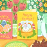 12 Free, Printable Easter Cards For Everyone You Know   Free Printable Easter Cards