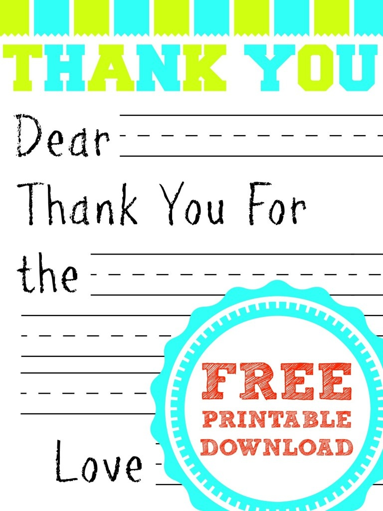 13 Best Photos Of Free Printable Fill In The Blank Thank You Cards - Fill In The Blank Thank You Cards Printable Free