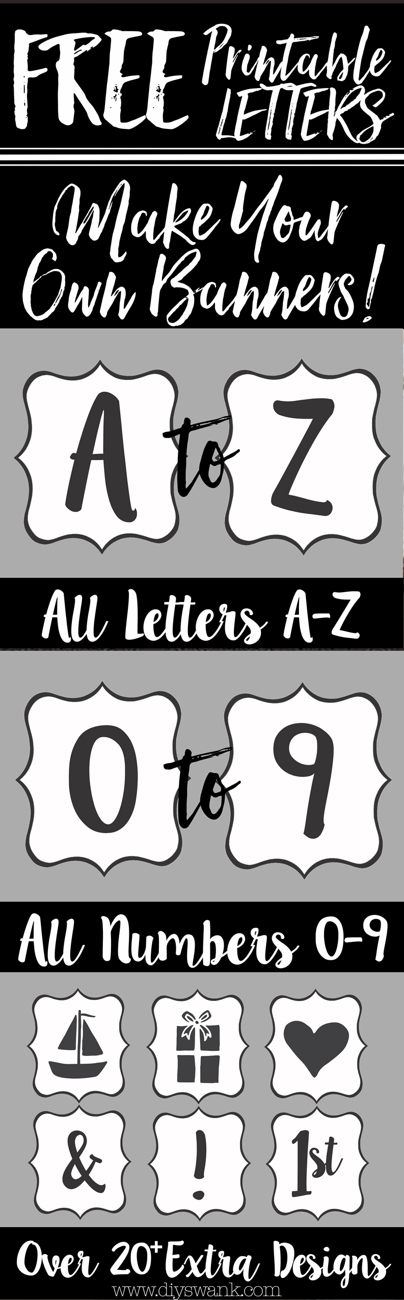 1418 Best Diy Swank Images | Christmas Deco, Christmas Decor - Diy Swank Free Printable Letters