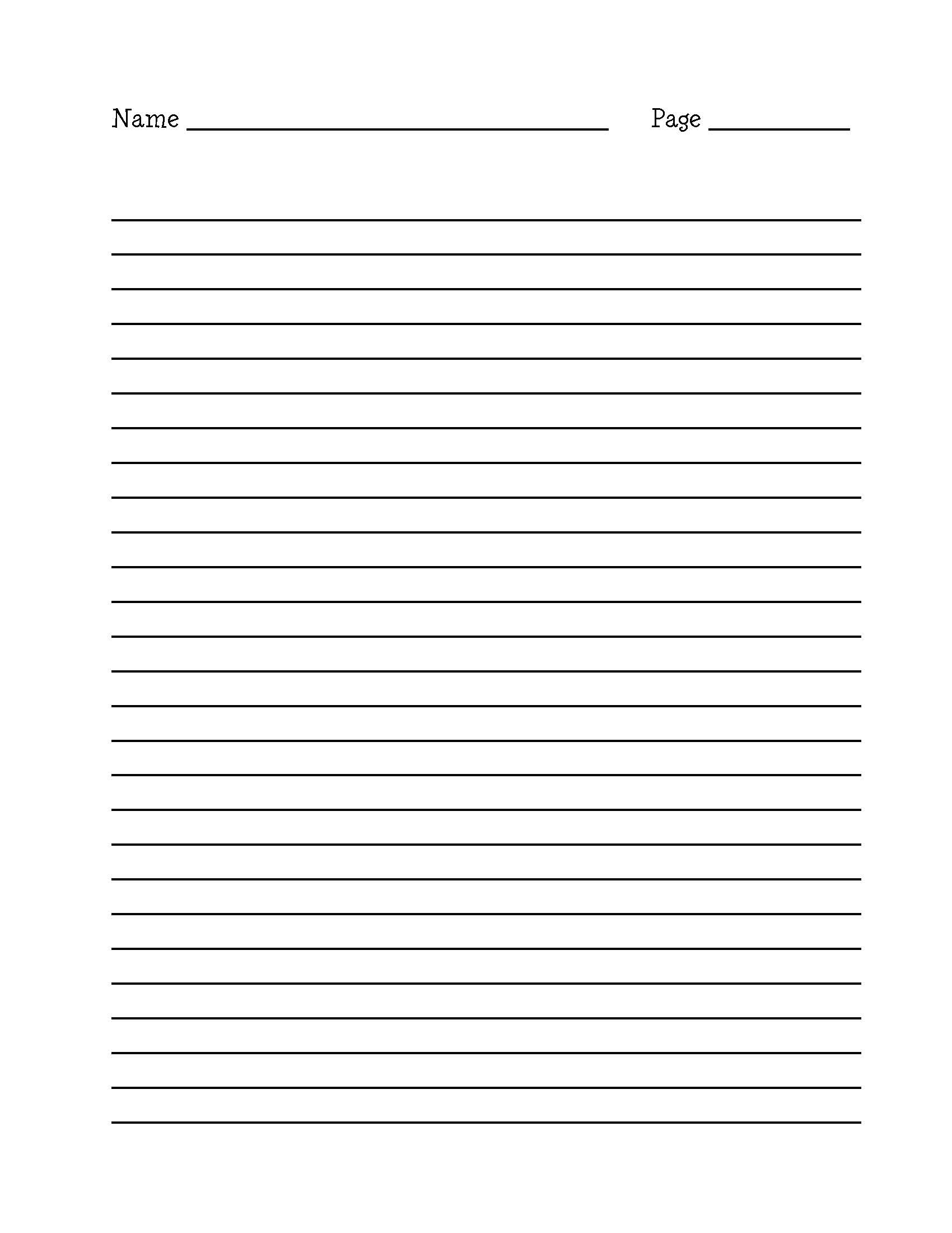 15+ Download A4 Lined Paper Templates | All Form Templates - Free Printable Lined Writing Paper