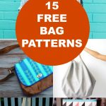 15 Free Bags Patterns   On The Cutting Floor: Printable Pdf Sewing   Handbag Patterns Free Printable