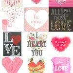 15 Free Valentine's Day Printables | Just Busy With Life | Holidays   Free Printable Valentine Decorations