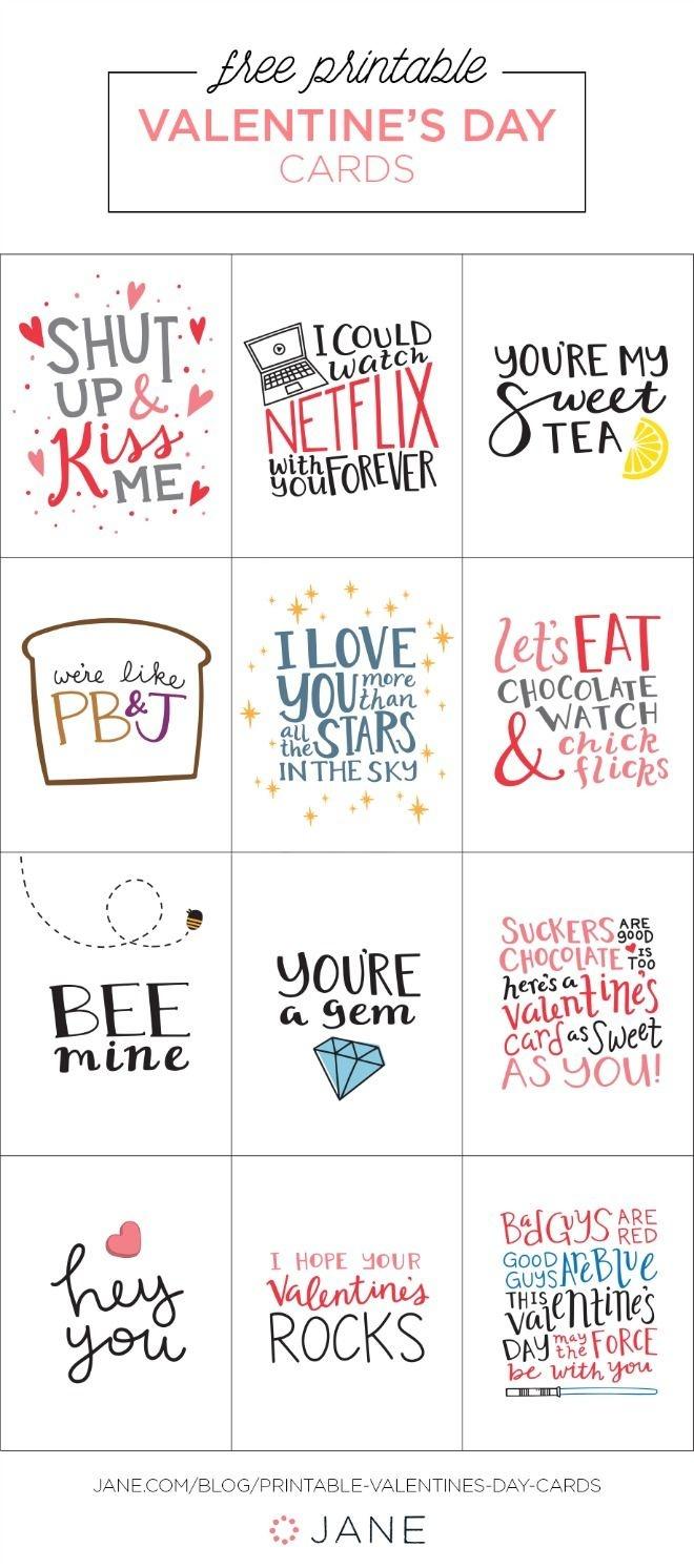 17 Free Printable Valentine Greeting Cards | Valentine's Inspiration - Free Printable Love Greeting Cards