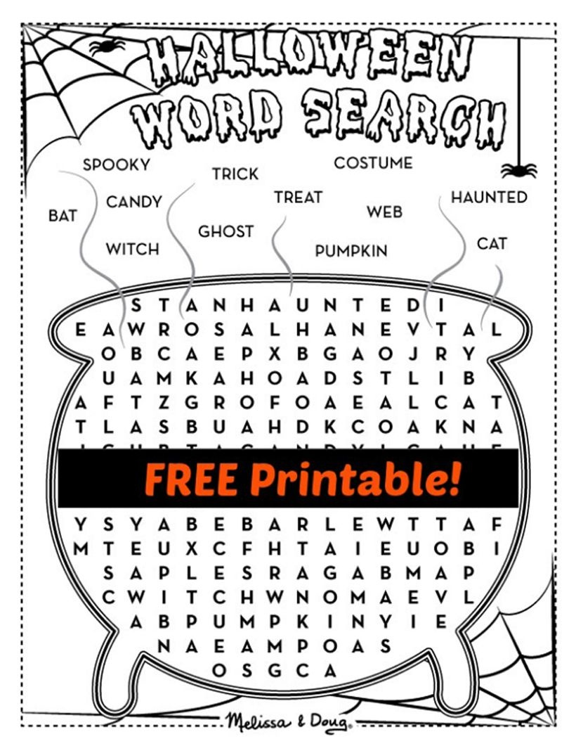 2 Printable Halloween Activity Pages For Kids | Halloween - Free Printable Halloween Activities