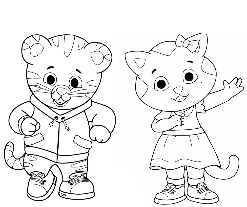 20 Daniel Tiger Halloween Coloring Page | Ayla Coloring | Daniel - Free Printable Daniel Tiger Coloring Pages