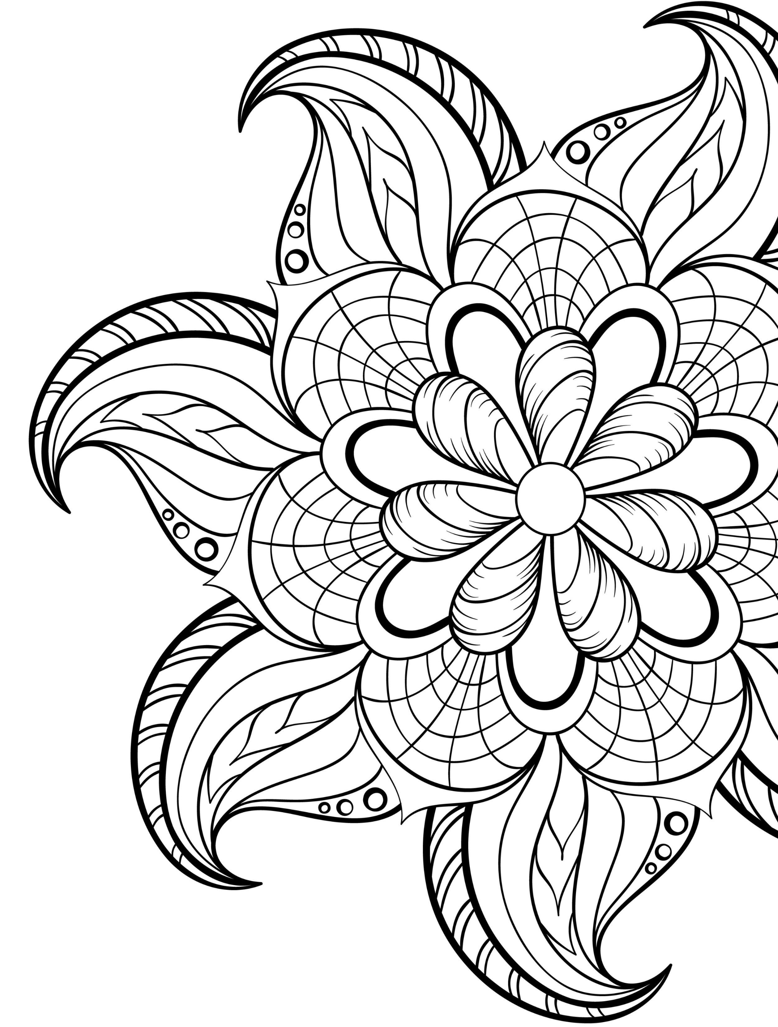 20 Gorgeous Free Printable Adult Coloring Pages | Coloring - Free Printable Coloring Books For Adults