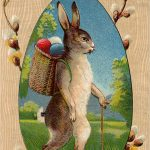 21 Easter Bunny Images Free   Updated!   The Graphics Fairy   Free Printable Vintage Easter Images