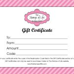 21+ Free Free Gift Certificate Templates   Word Excel Formats   Free Printable Tattoo Gift Certificates
