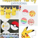 25+ Free Pokemon Party Printables   Cutesy Crafts   Pokemon Invitations Printable Free