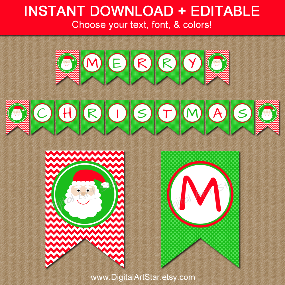 29 Images Of Christmas Free Printable Banners Template | Helmettown - Free Printable Christmas Banner
