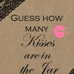 2 Free Printable Games Archives   Bridal Shower Ideas   Themes   How Many Kisses Game Free Printable