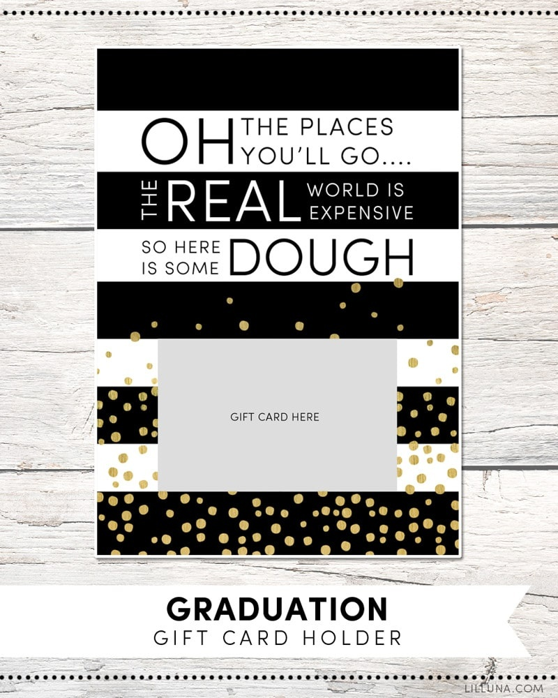 30 Awesome High School Graduation Gifts Graduates Actually Want - Free Printable Graduation Advice Cards