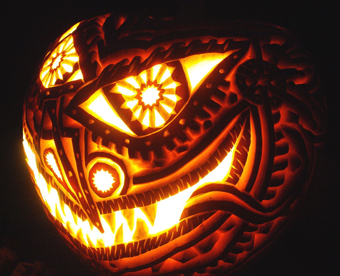 30+ Best Cool, Creative & Scary Halloween Pumpkin Carving Ideas 2013 - Scary Pumpkin Patterns Free Printable