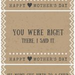 30 Funny Mother's Day Cards   Free Printables With Hilarious Quotes   Free Printable Funny Mother's Day Cards