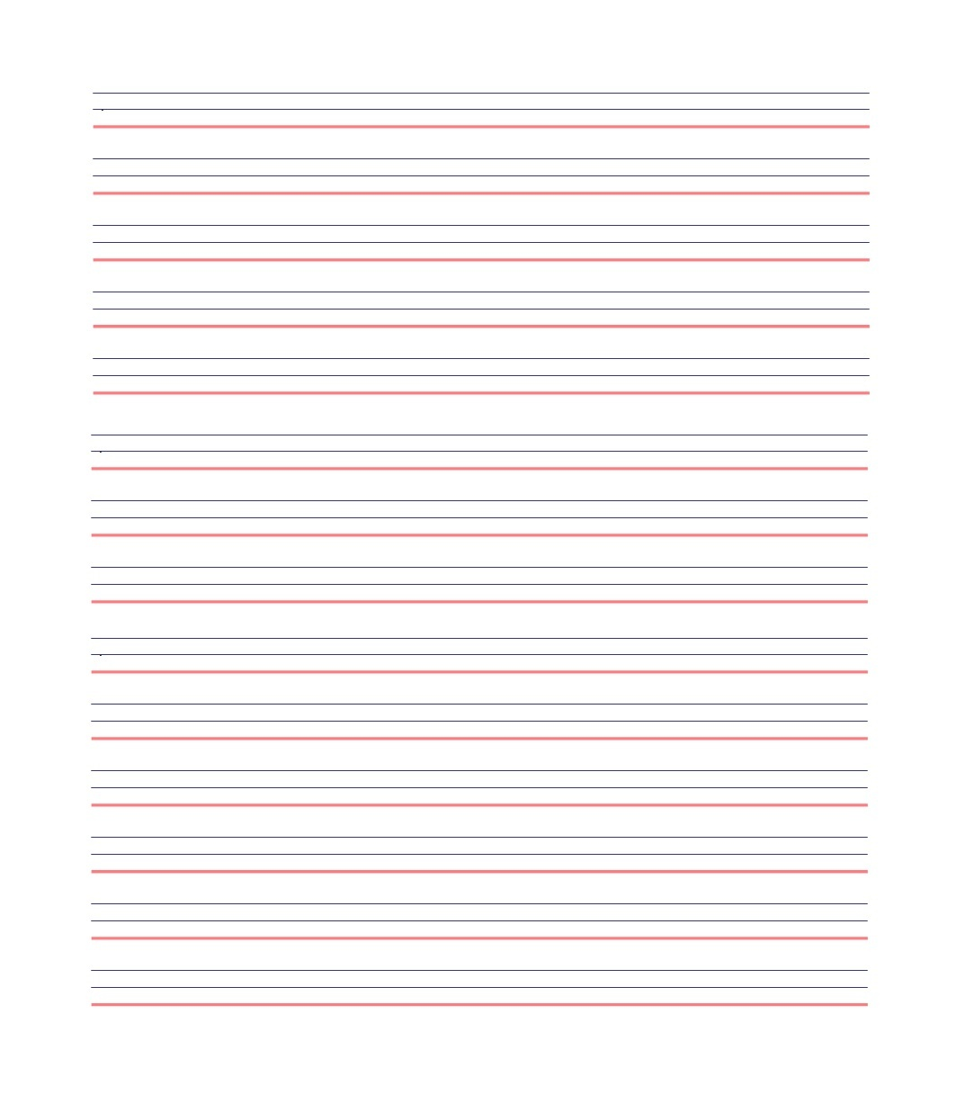 32 Printable Lined Paper Templates ᐅ Template Lab - Free Printable Lined Writing Paper