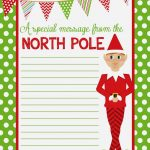 4 Best Images Of Elf On The Shelf Free Printable Christmas Paper   Free Printable Christmas Border Paper