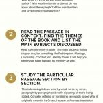 4 Simple Bible Study Steps | How To Study The Bible | Bible Study   Free Printable Bible Studies For Adults