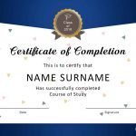 40 Fantastic Certificate Of Completion Templates [Word, Powerpoint]   Free Printable Camp Certificates
