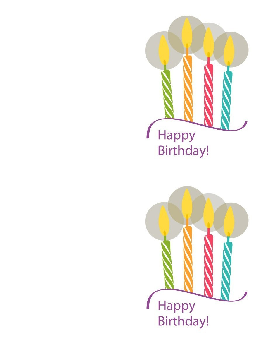 40+ Free Birthday Card Templates ᐅ Template Lab - Free Printable Birthday Cards For Adults