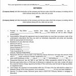 40+ Free Loan Agreement Templates [Word & Pdf] ᐅ Template Lab   Free Printable Blank Loan Agreement