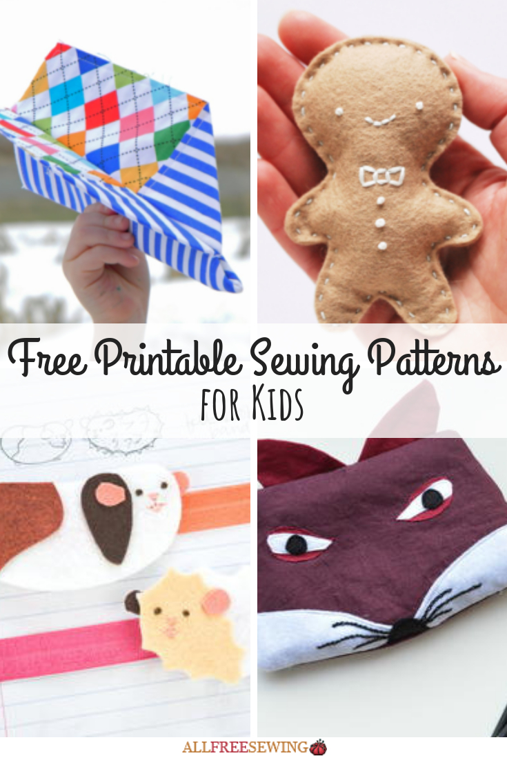45+ Free Printable Sewing Patterns For Kids | Printable Sewing - Free Printable Sewing Patterns For Kids