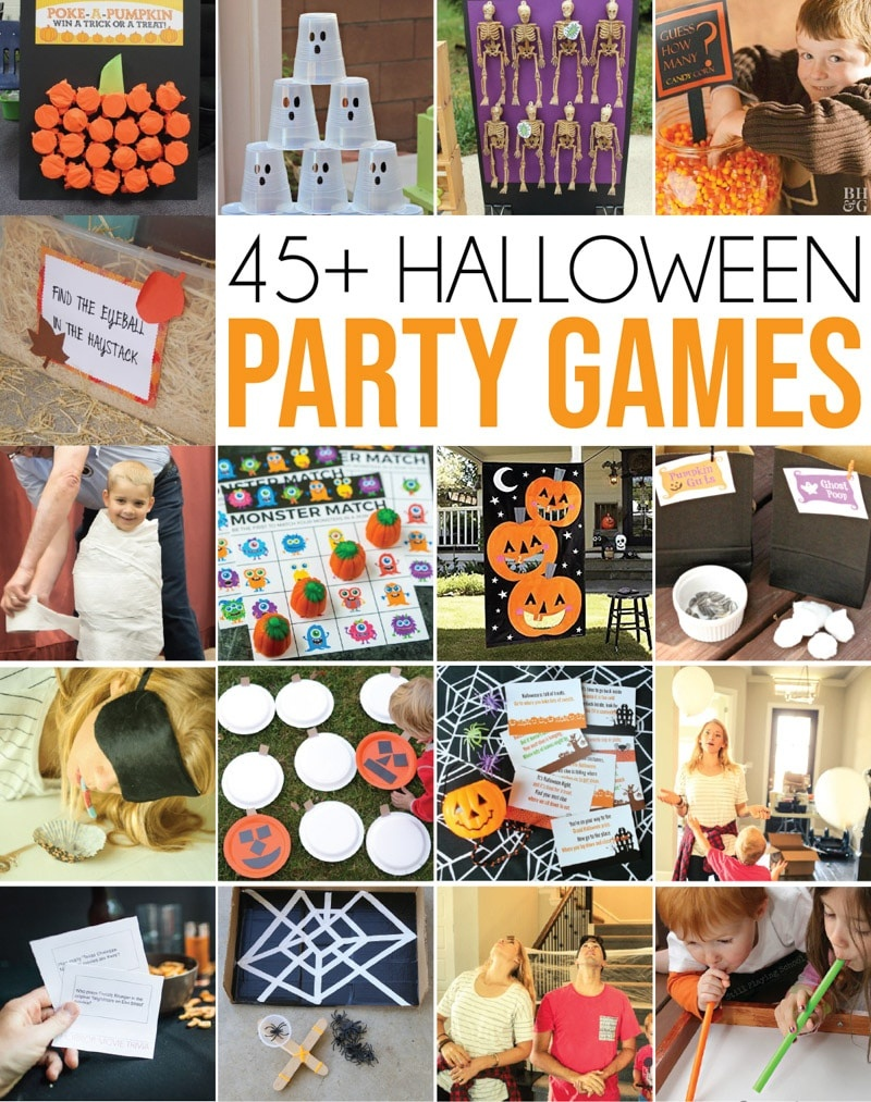 45+ Of The Best Halloween Games Ever - Play Party Plan - Free Printable Halloween Party Games