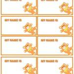 47 Free Name Tag + Badge Templates ᐅ Template Lab   Free Customized Name Tags Printable