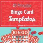 49 Printable Bingo Card Templates | Printables | Free Bingo Cards   Free Printable Bingo Cards Random Numbers