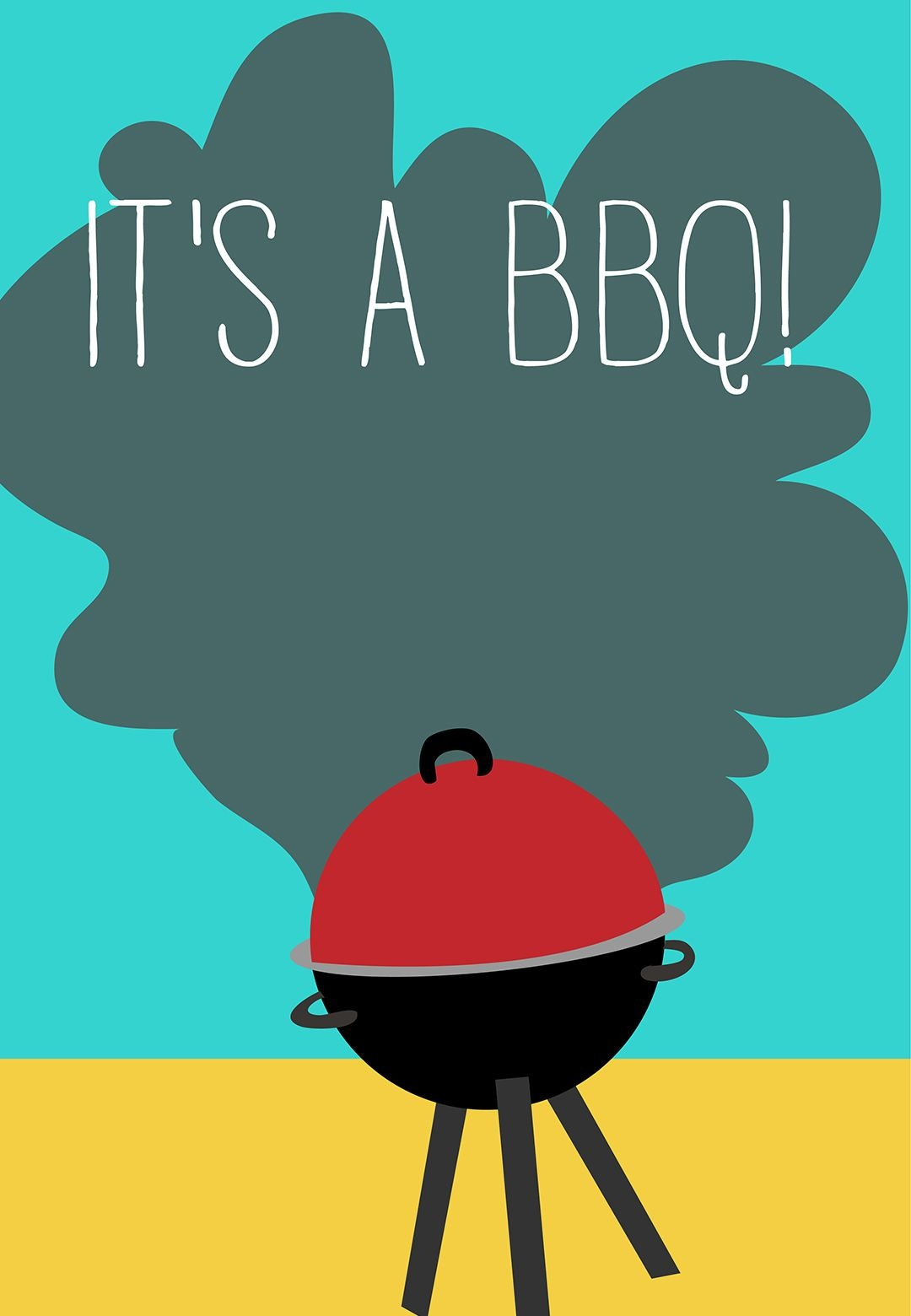 4Th Of July Bbq Party Invitation - Free Printable | Summer Grillin - Free Printable Cookout Invitations