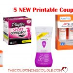 5 New Printable Coupons ~ $13.50 In Savings! Print Now!   Acne Free Coupons Printable